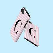 Pink Stripe Ellie Case