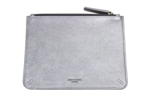 A5 Leather Clutch