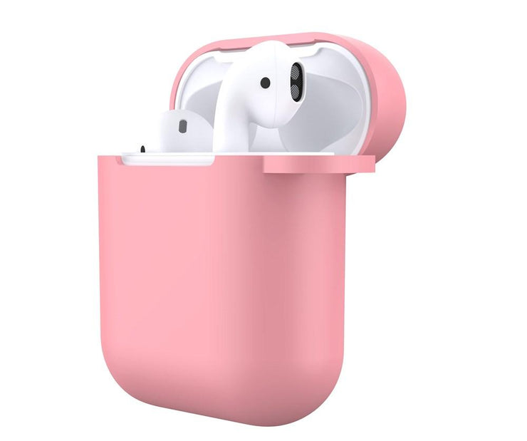 Pink Silicone AirPods Case
