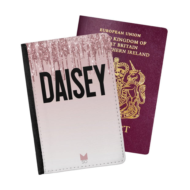 Daisy Drip Passport Holder