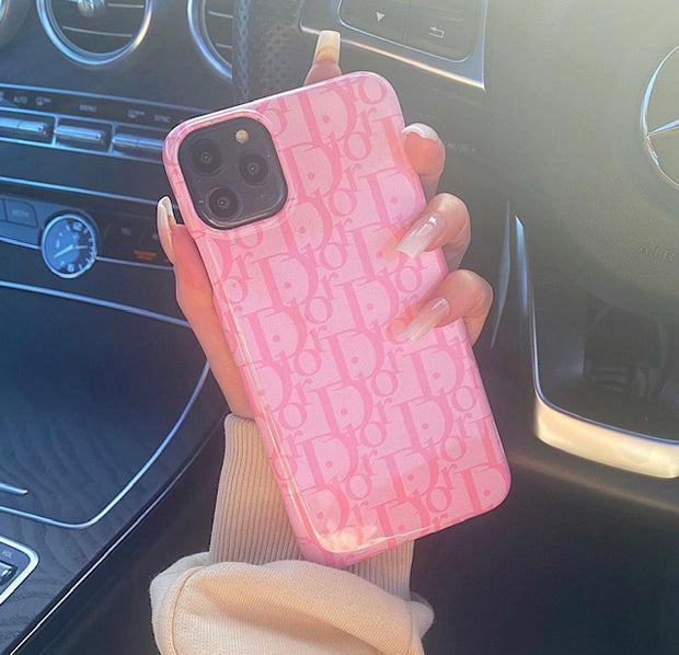Pink Luxe Print Case