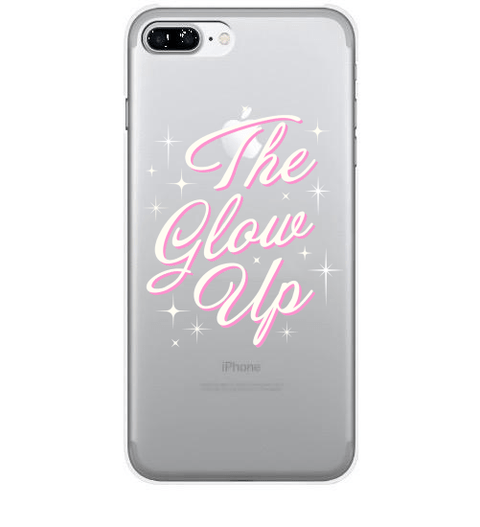 Glow Up Clear Case