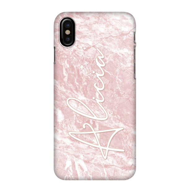 Alicia Pink Marble Case