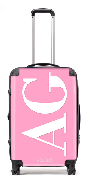 Pretty Pink Suitcase