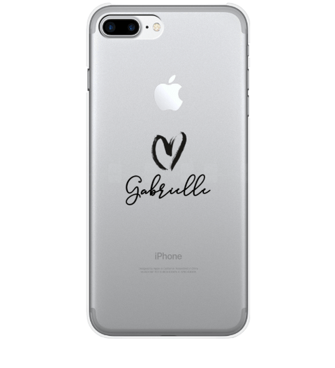 Clear Heart it Case
