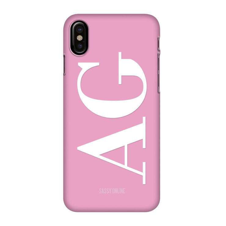 Hot Pink White Perfectly Case