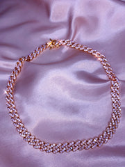 Cuban Link Chain - Rose