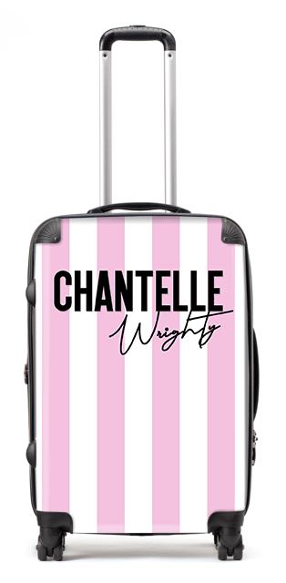 Chantelle Stripe Suitcase