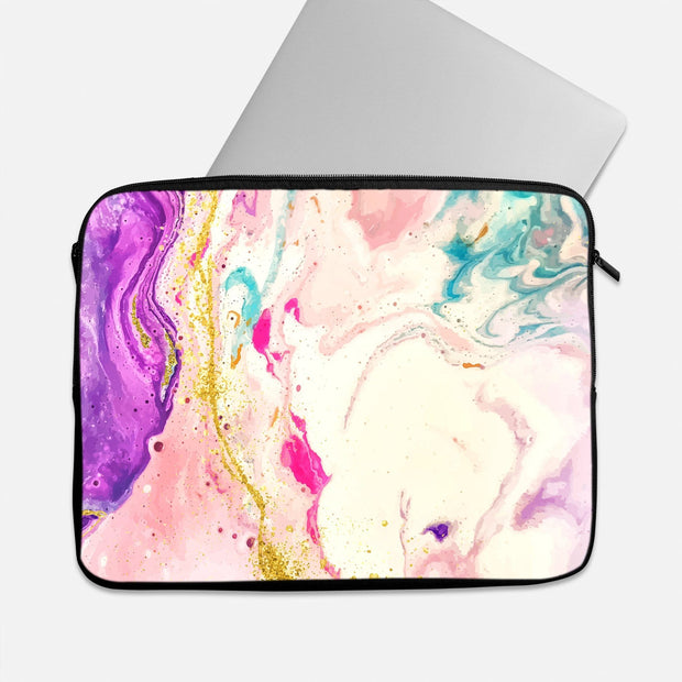 Tie Dye Pale Laptop Sleeve