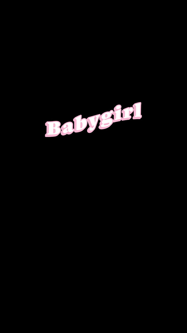 Babygirl Wallpaper