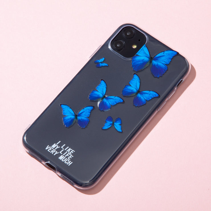 Blue Butterfly Life Case