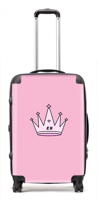Sassy Crown Suitcase