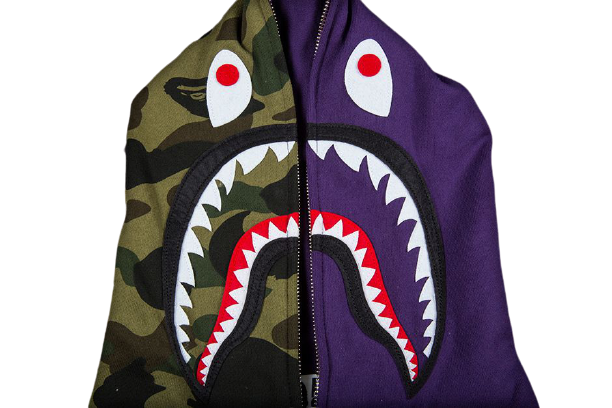 "A Bathing Ape "" Shark "" Full Zip 2018"