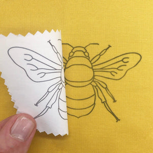 Bugs and Butterflies: Iron-On Embroidery Transfer Patterns