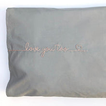 Load image into Gallery viewer, Love You: Iron-On Embroidery Pattern