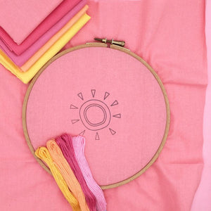 Natural Folk: Iron-On Embroidery Transfer Patterns