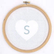 Load image into Gallery viewer, Sprinkle Heart: Personalised Embroidery Pattern (iron on transfer)
