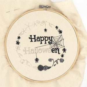 Happy Halloween: Iron-On Embroidery Transfer Patterns
