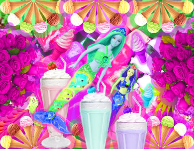 Print - Mermaids and Milkshakes