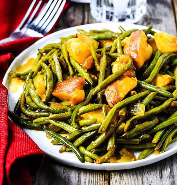 Garlic Herb Green Beans