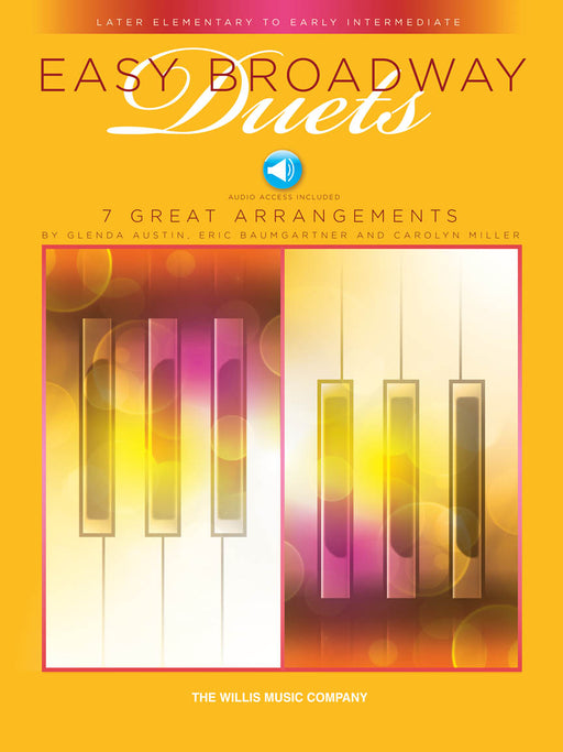 Easy Broadway Duets - Later Elementary to Early Intermediate Level