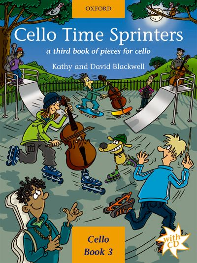 Cello Time Sprinters Book with CD