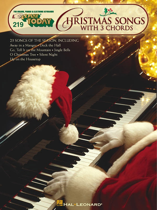 EZ Play 219 Christmas Songs with 3 Chords