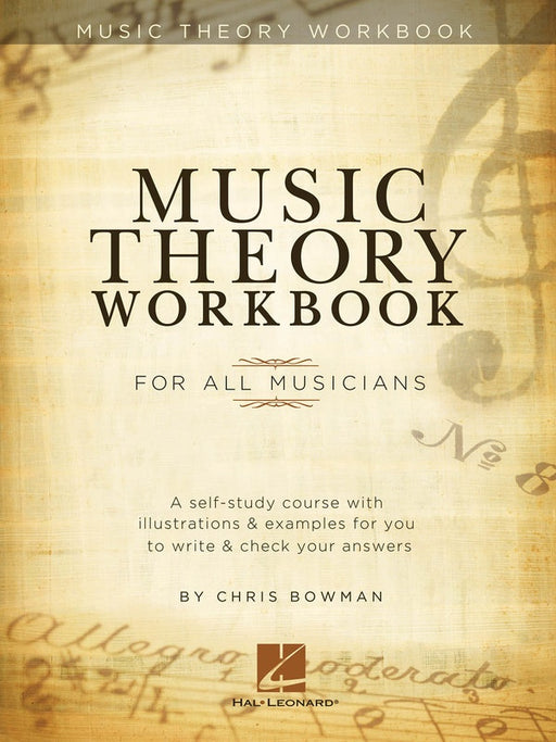 Music Theory Workbook by Chris Bowman
