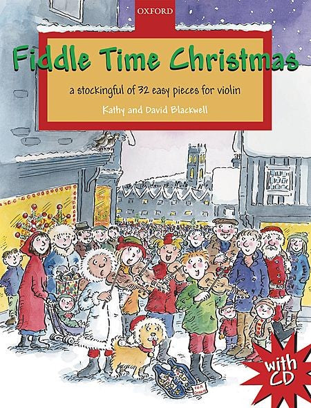 Fiddle Time Christmas Book/Cd by