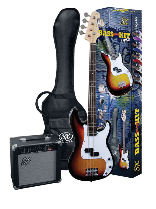 Sx Electric Bass Package by Sx