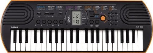 44 Key Portable Mini  Keyboard Casio SA 76  by Casio