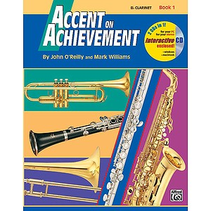 Accent on Achievement Clarinet Book 1 by