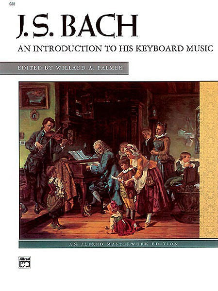 Bach An Introduction to his Keyboard Music Book / Cd by