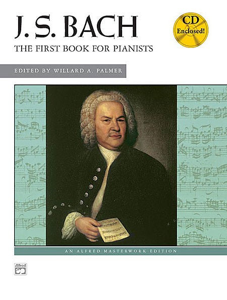 Bach First Book for Pianists Book / Cd by