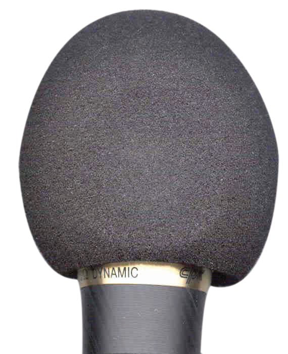 Microphone Windshield Black by