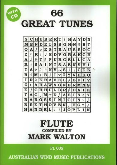 66 Great Tunes for Flute Mark Walton by
