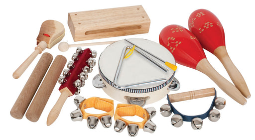 Percussion Pack 9 Pieces with Bag by