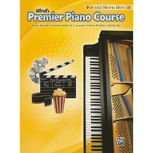 Premier Piano Pop and Movie Hits Book 1B by