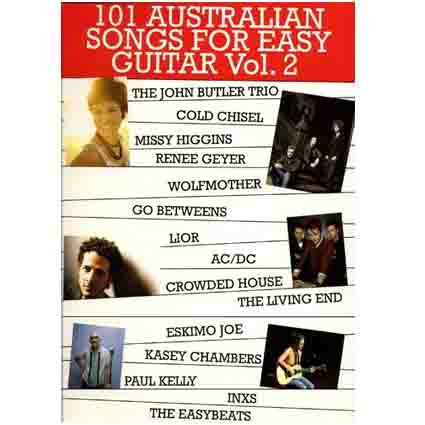 101 Australian Songs Easy Guitar Vol 2 by