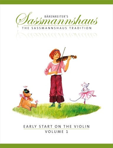 Sassmannhous Early Start to the Violin 1 by