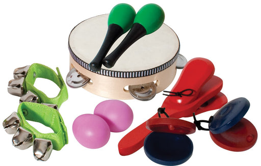 6 Piece Percussion Pack in Bag by