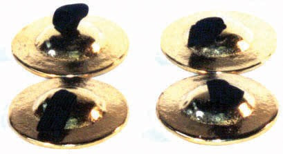 Pair of Cast Finger Cymbals by