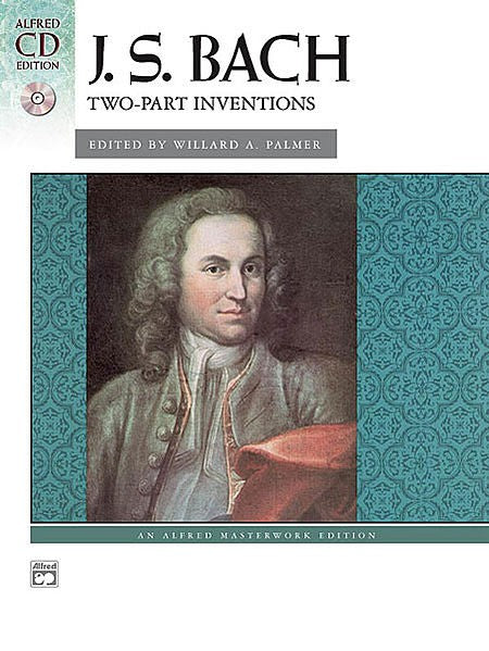 Bach Two-Part Inventions Book / CD