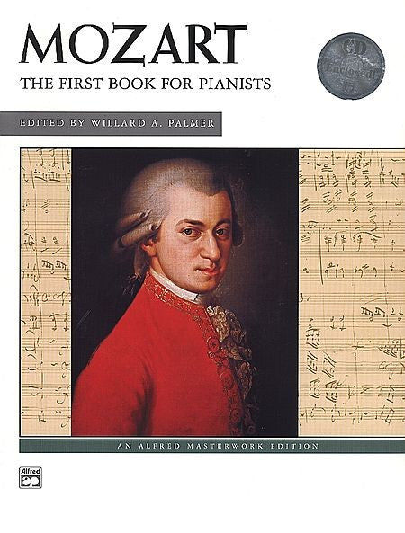 Mozart First Book for Pianists Book/Cd
