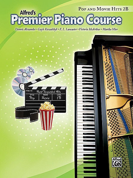 Premier Piano Course Pop & Movie Hits 2B