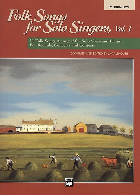 Folk Songs for Solo Singers Book 1: Medium Low