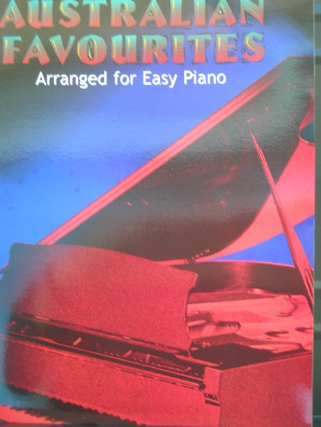Book of Australian Piano Favourites Dan Coates Easy Piano by