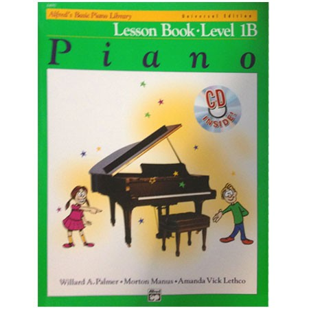 Alfreds Basic Piano Library Lesson Book