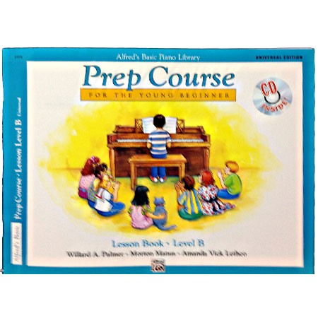 Alfred Prep Course Lesson Book B