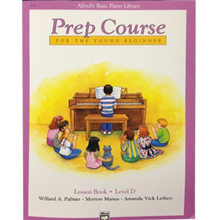 Alfred Prep Course Lesson Book D